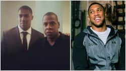 Anthony Joshua reveals how he almost got 'punched' by Jay Z at Will Smith's premiere