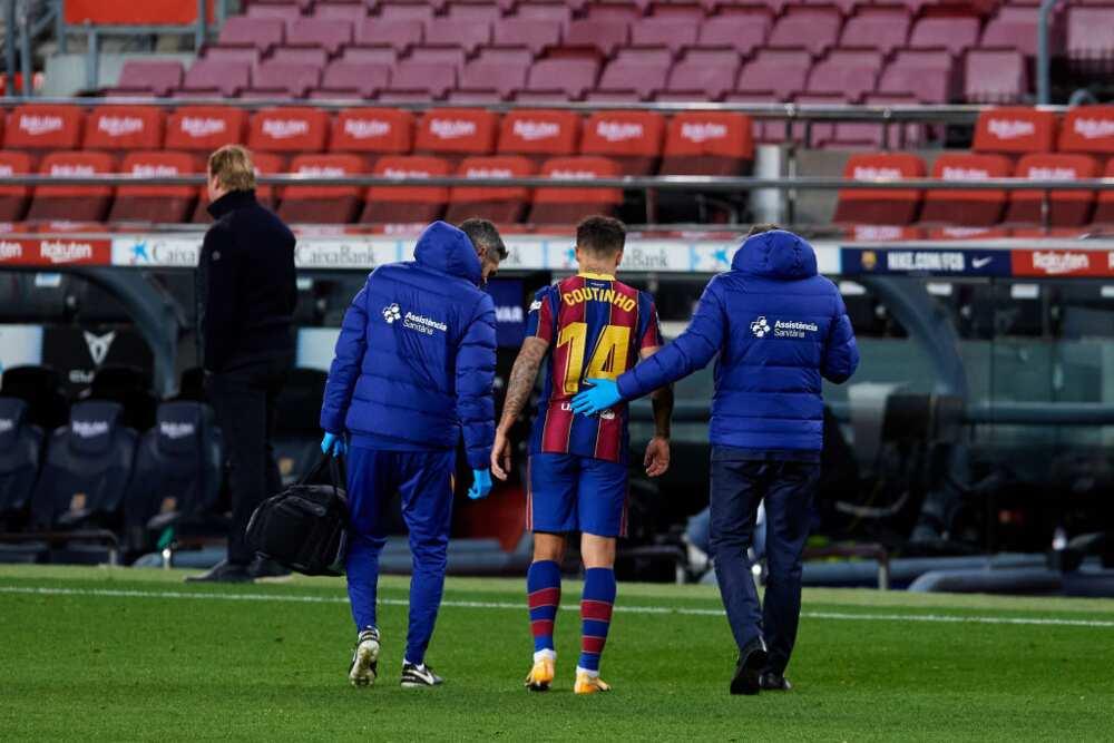 Barcelona vs Eibar: Dembele saves Ronaldo Koeman's blushes in last game of 2020