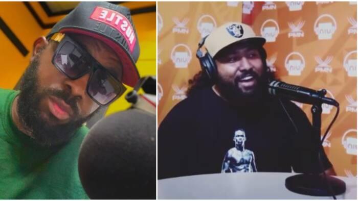 Upcoming Nigerian singer Reggie recounts meeting 'oyinbo' helper through the internet