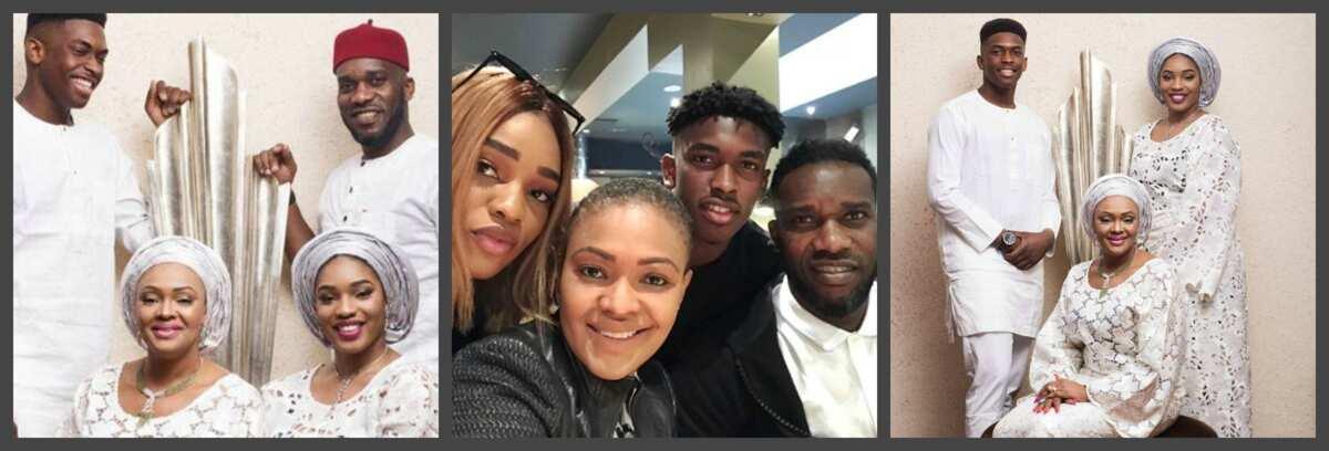Jay Jay Okocha's family