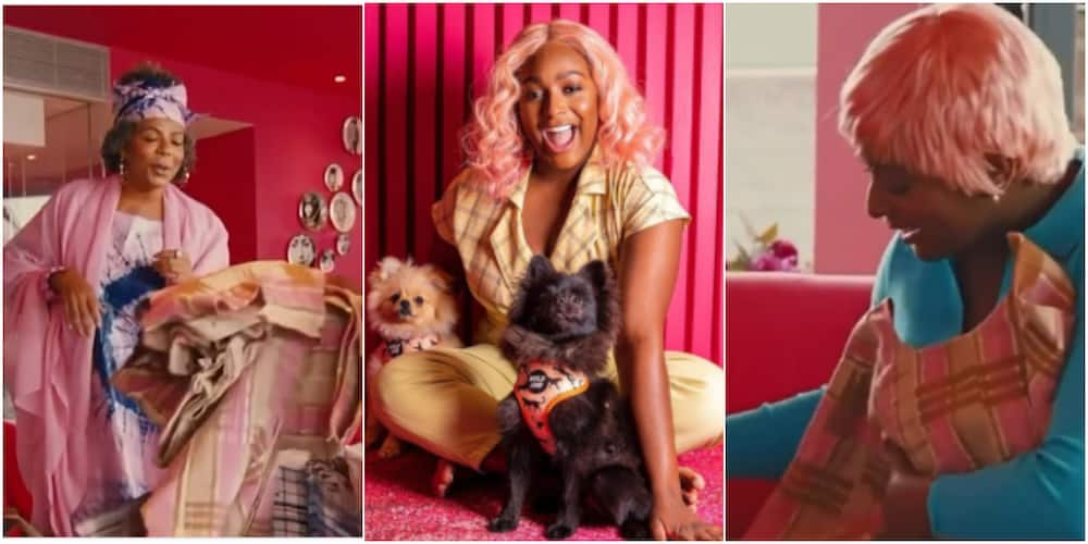 DJ Cuppy couldn't hide her excitement over the gift