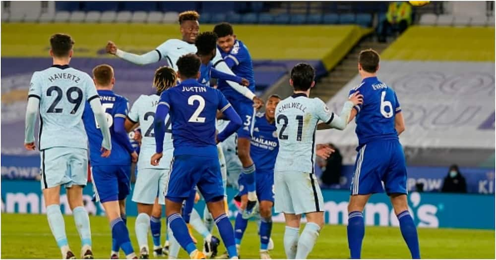 Leicester vs Chelsea: Foxes hunt down limping Blues to go top on EPL standings
