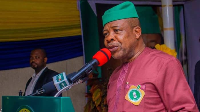 Ihedioha openly slams Ganduje at book launch event in Abuja