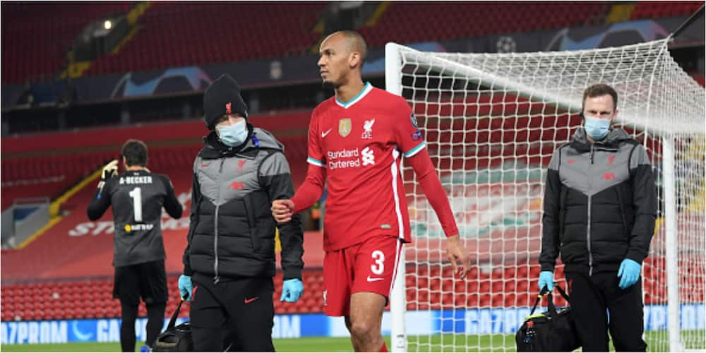 Fabinho: Klopp confirms Brazilian will not be available for West Ham tie
