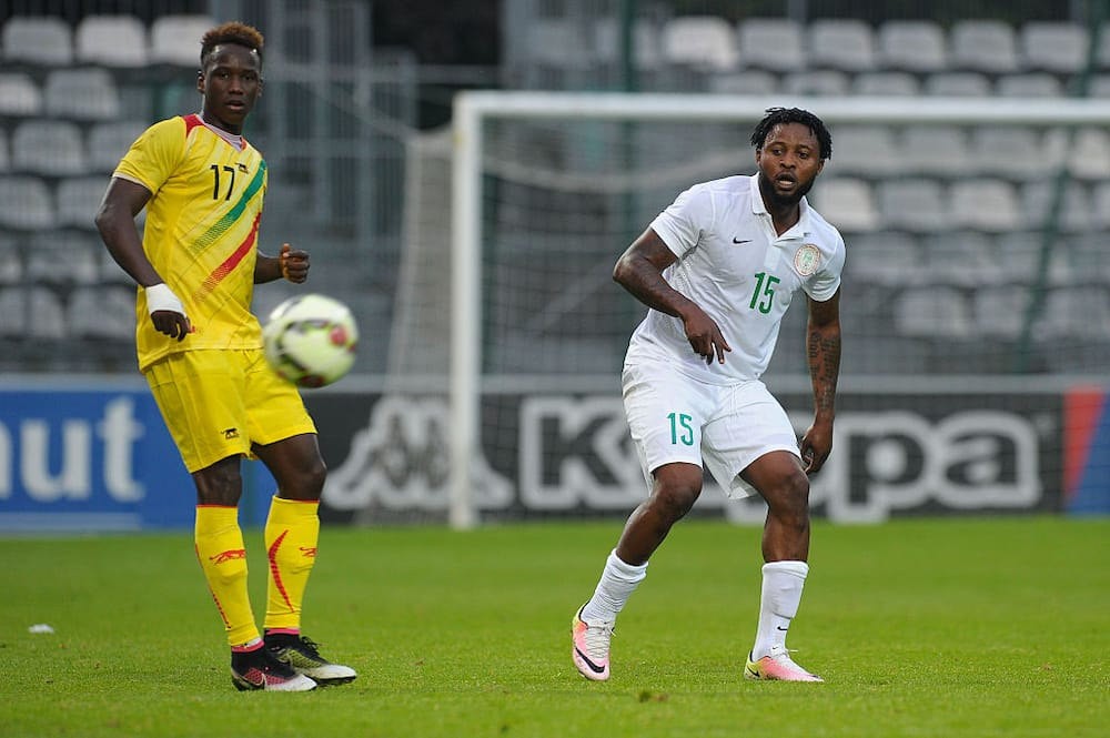 Super Eagles star shows his N100m Bentley with customized plate number