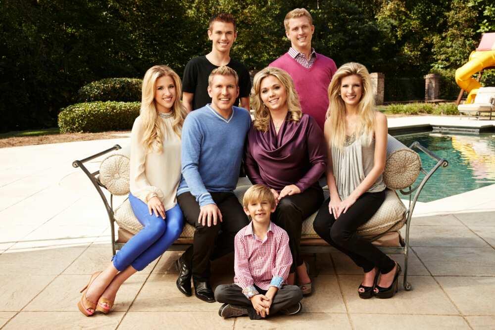 Todd Chrisley's children