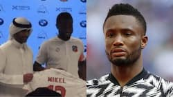 Top Asian club unveils Mikel Obi, hands him special jersey number as he's set to earn over N1bn as salary