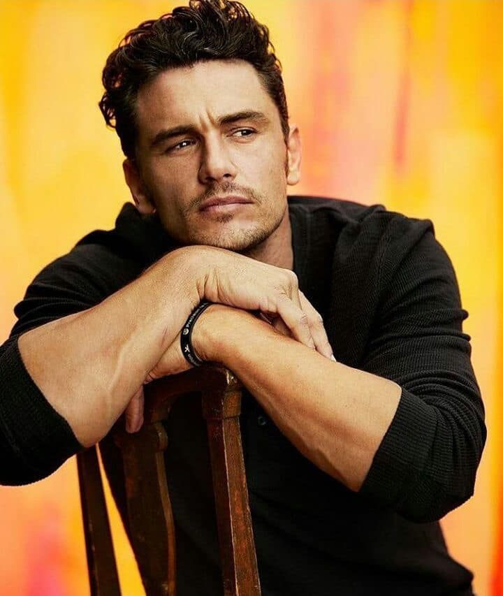 james franco height and weight
