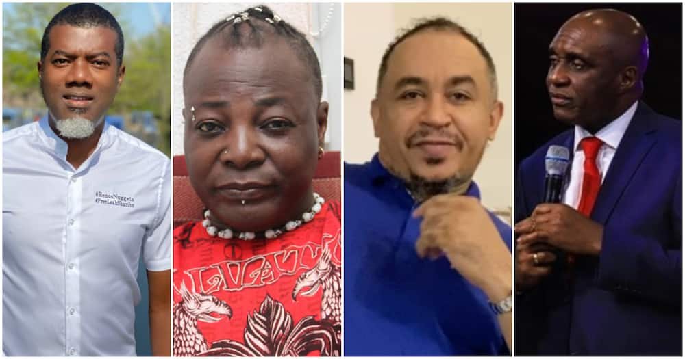 Reno Omokri, Charlie Boy call out Pastor Ibiyeomie for launching verbal attack on Daddy Freeze