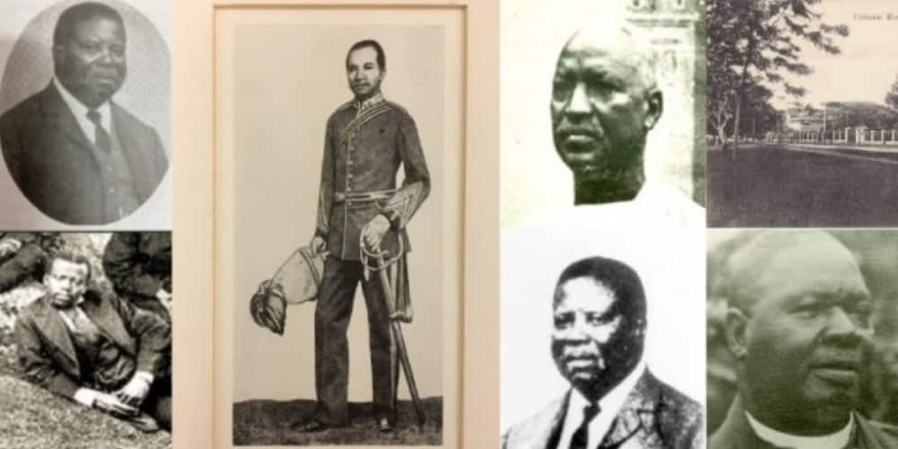 The men were the only Nigerian medical doctors in the nineteenth century