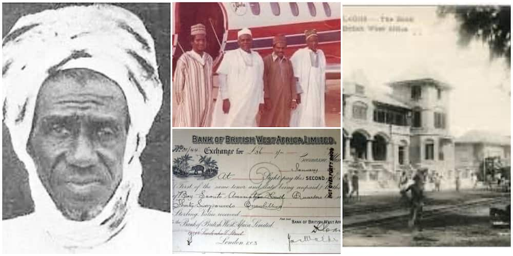 Old Receipt Reveals Dangote's Grand Father as One of the First Nigerians to Deposit Money in a Bank