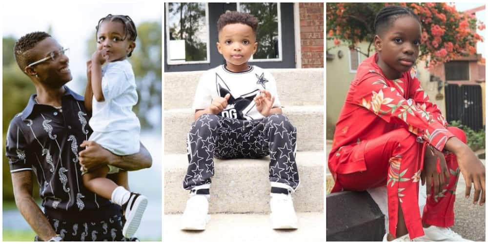 Nigerian singer Wizkid says he wouldn't want his sons to be like him