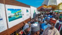 Senate president flags off airstrip construction in Yobe