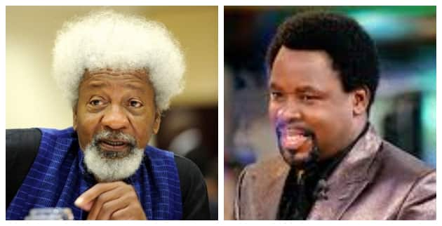 Soyinka finally reveals alleged cause of TB Joshua's church collapse in 2014