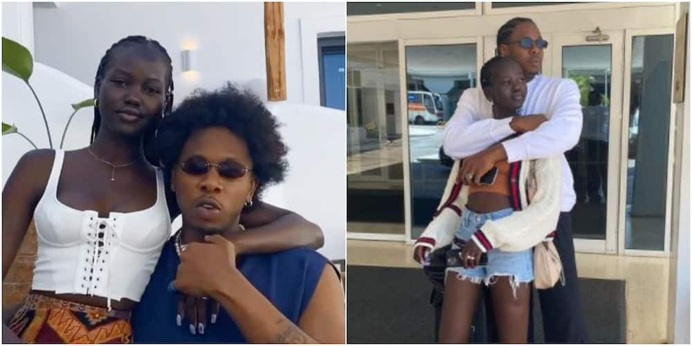Singer Runtown finally confirms relationship with South Sudanese girlfriend