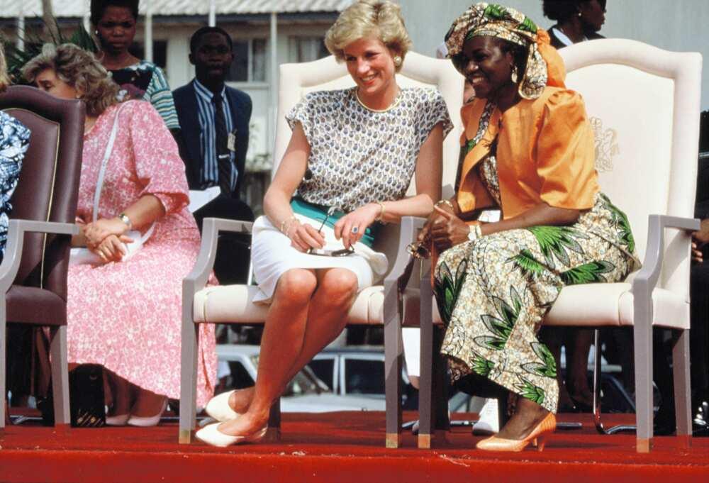 Maryam Babangida and Princess Diana