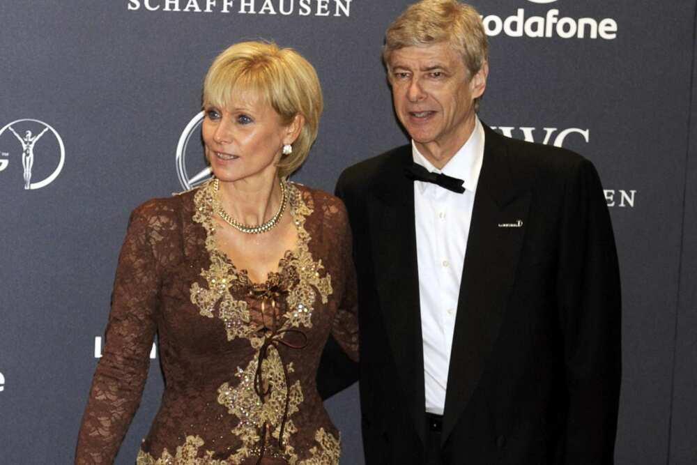 Arsene Wenger wife