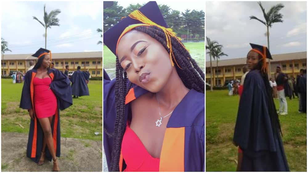 So I can wear a matric gown - Nigerian lady celebrate her university admission