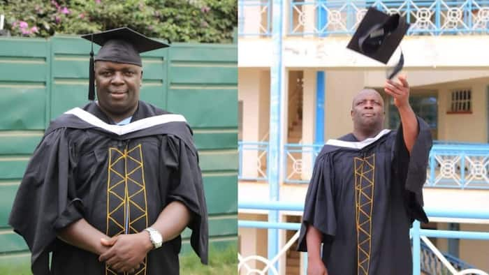 After spending 22 years in primary schools writing exams 9 times, man becomes university graduate