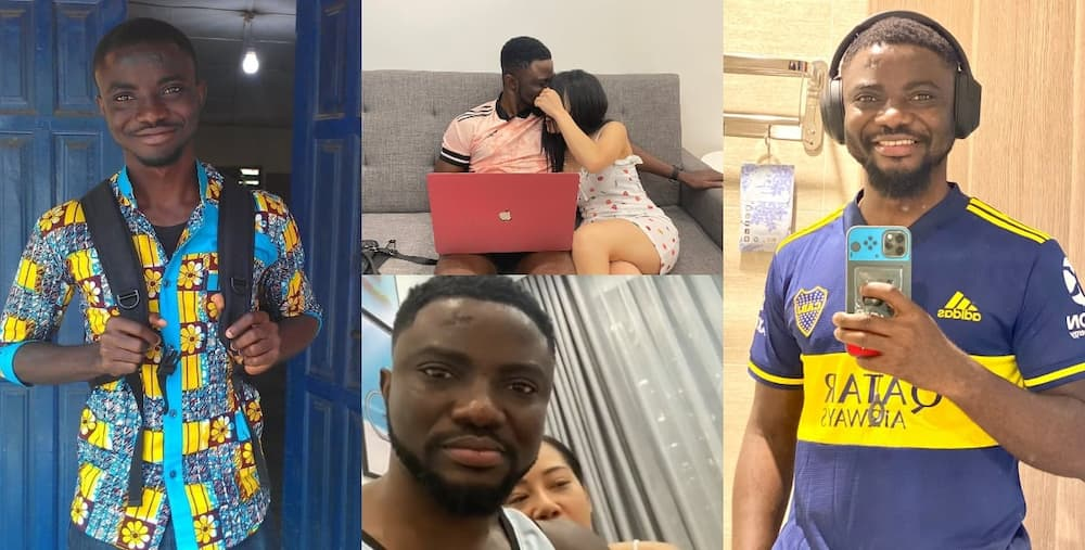 Achabu reveals the face of his foreign lady