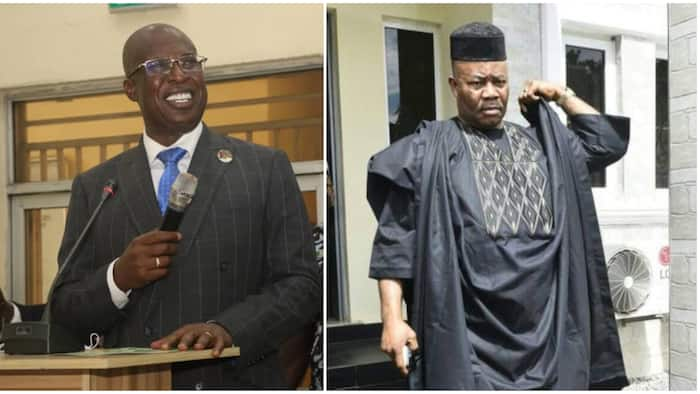 NDDC board: Buhari's minister finally breaks silence on alleged rift with Akpabio