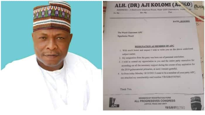 2023: Crisis rocks APC as former governorship candidate dumps party in Yobe