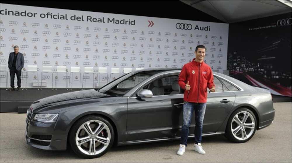 N1bn Bugatti Chiron, Dodge Charger SRT8, Lamborghini Aventador Among Exotic Cars Acquired by Ronaldo, Messi