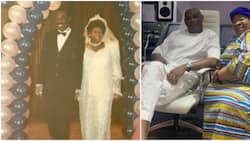 Still marching on: Don Jazzy's dad shares throwback photo as he celebrates wedding anniversary with wife