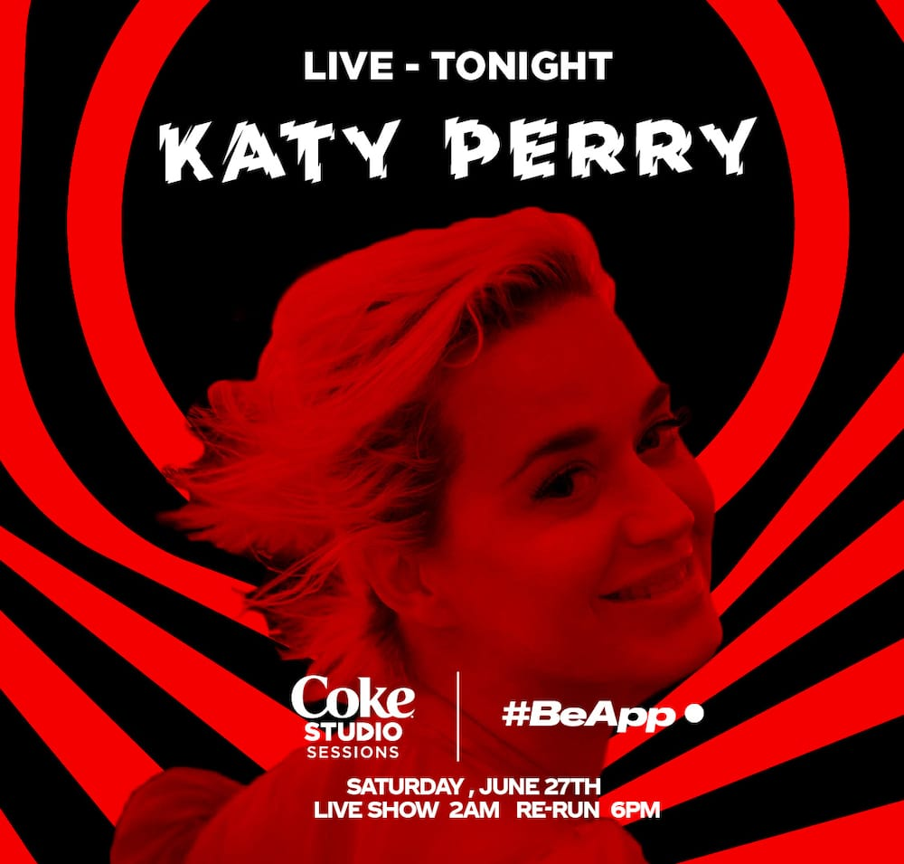 Katy Perry, Tinashe, Gryffin, more to perform in this week's Coke Studio sessions