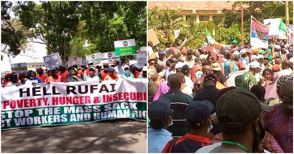 Commotion in Kaduna as 100 armed thugs invade NLC office