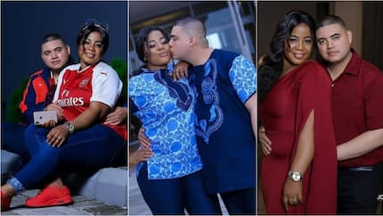 These pre-wedding photos of Nigerian bride and her light skinned groom will melt your heart