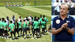 Super Eagles stars land in Austria ahead of 2 big friendly games (see list of players in camp)