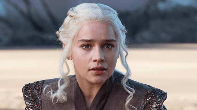 Emilia Clarke eyes