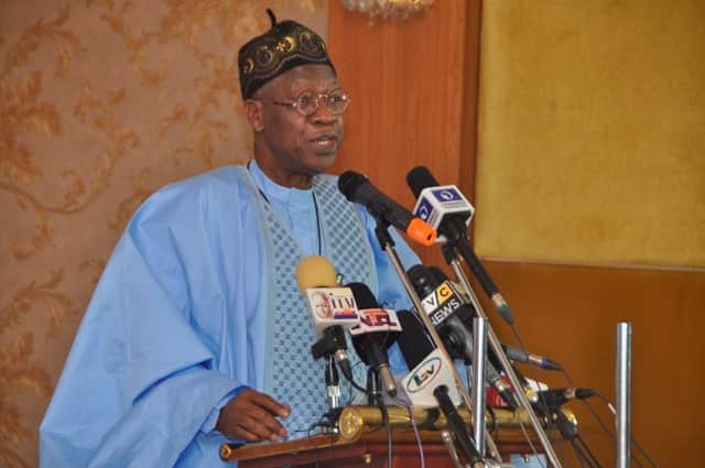 FG has recovered looted funds, says Lai Mohammed