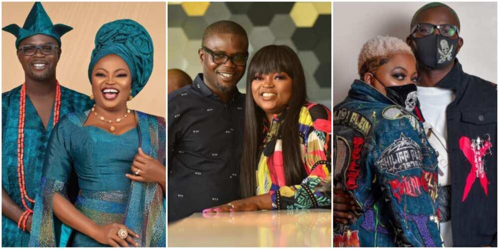 You rock always: Actress Funke Akindele celebrates her husband JJC Skillz as he clocks a new age