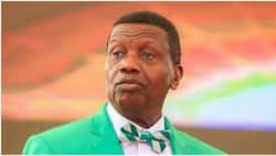 I'm not God - Pastor Adeboye says as he urges members to stop using his photos on souvenirs