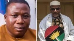 Ghali Na'Abba Ya Yi Martani Kan Kame Nnamdi Kanu da Farautar Sunday Igboho