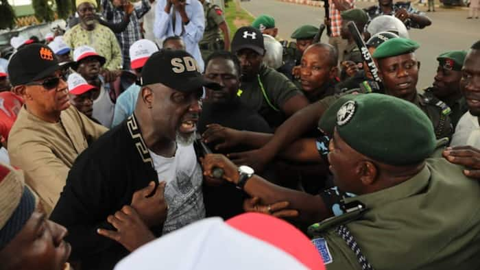 Just in: Court orders police to show cause for detaining Senator Melaye