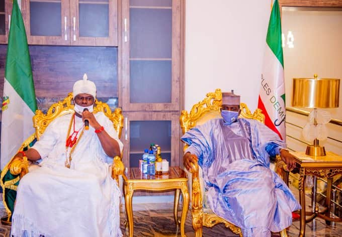 Ooni confers traditional title of Obapero of Ife-Odua on Governor Matawalle