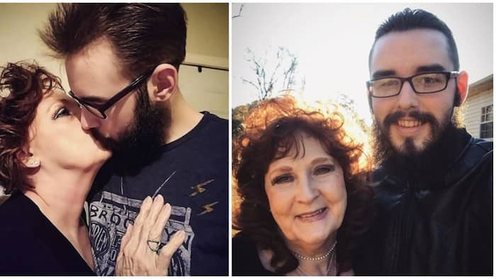 21-year-old man praises 74-year-old wife on their 3rd wedding anniversary