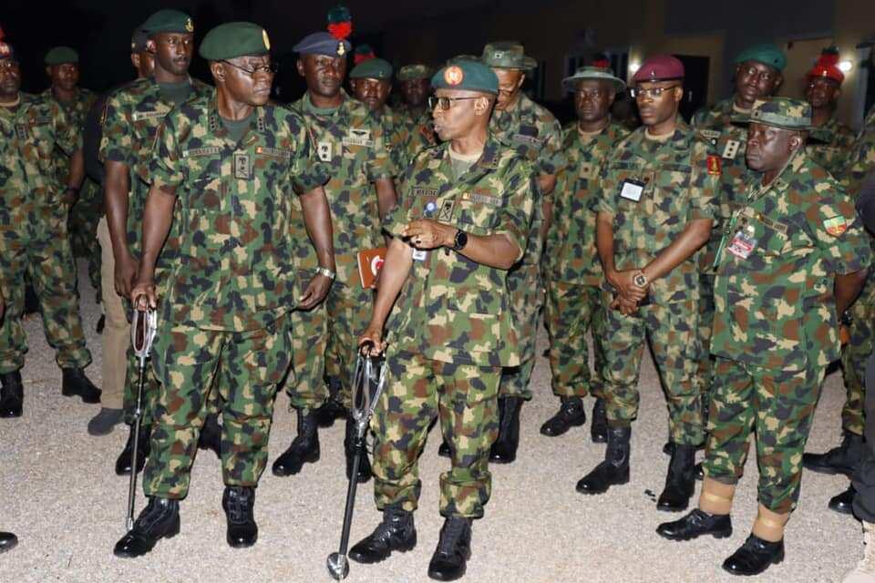 Nigerian military base