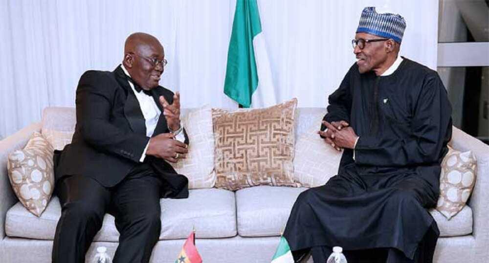 Na yi magana da Buhari, ya ce zai tattauna - Shugaban Ghana, Nana-Akufo