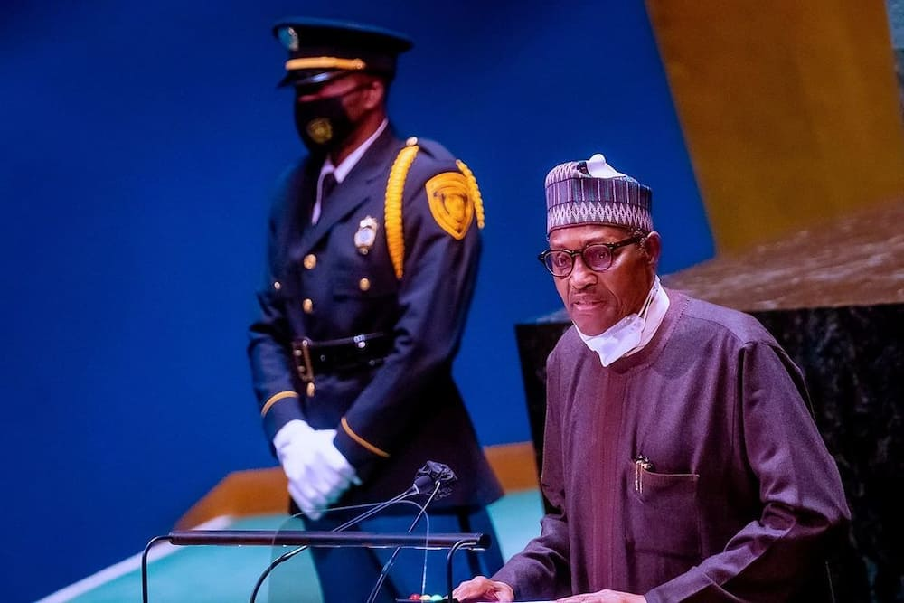 Shugaba Buhari a taron UNGA