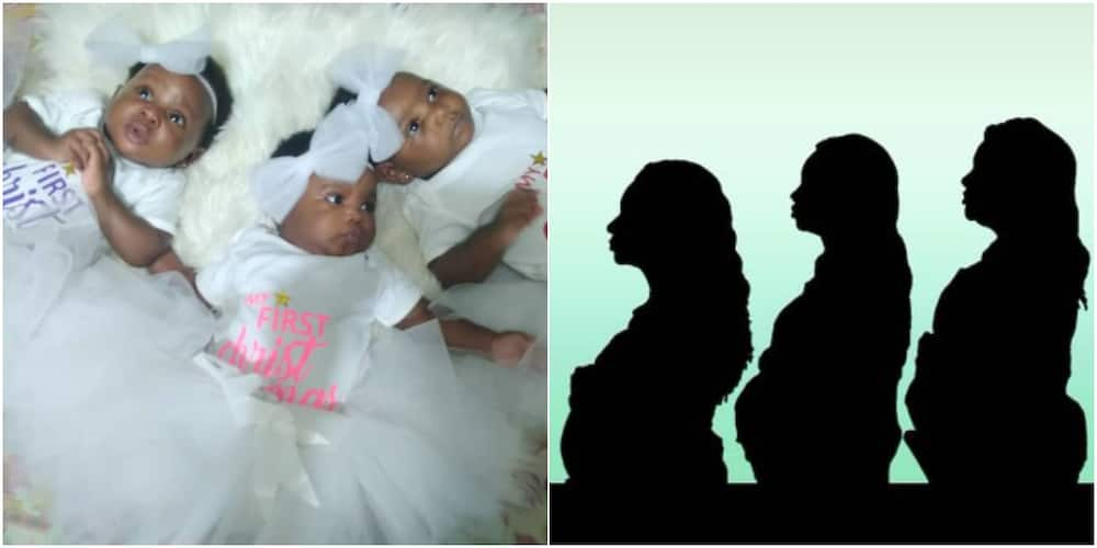 Man reveals his wife and 2 of her sisters got pregnant at the same time