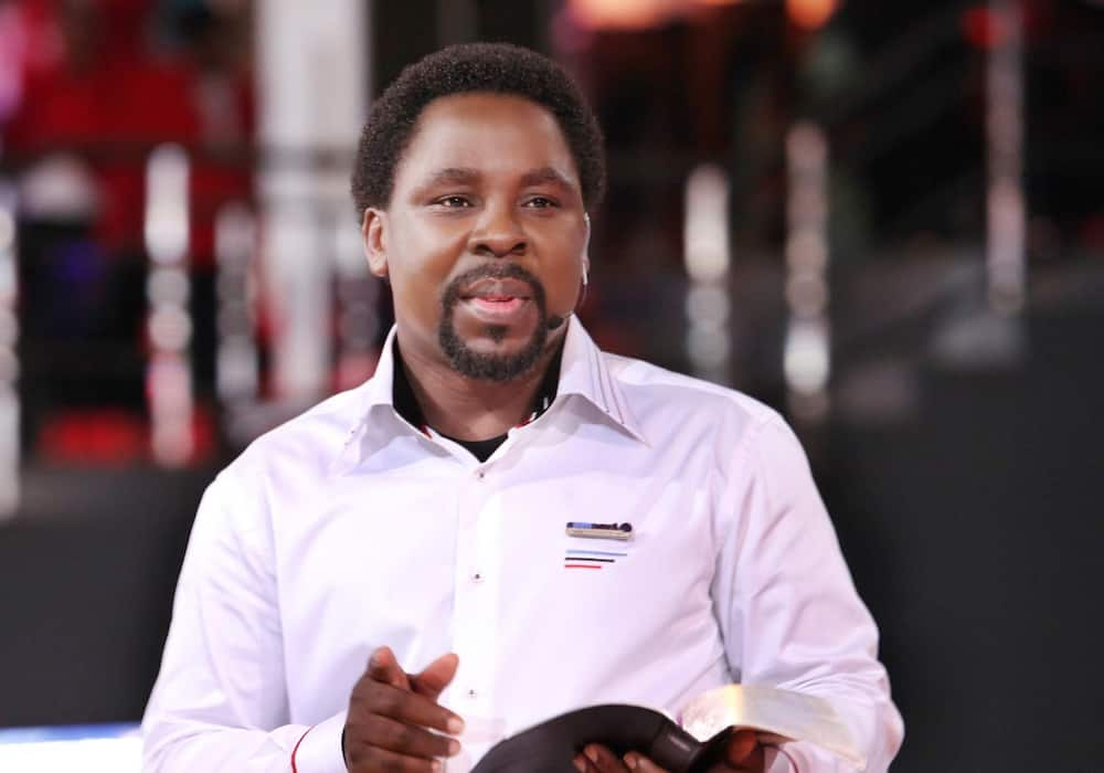 COVID-19: T.B Joshua releases anointing water, church sticker to fight virus