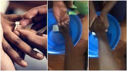 Wash your husband's hands with warm water when he's done eating - Man advises women on how to keep their home