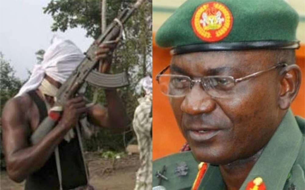Abuja-Kaduna: Masu garkuwa sun kashe Kanal a rundunar soji bayan karbar kudin fansa N10m