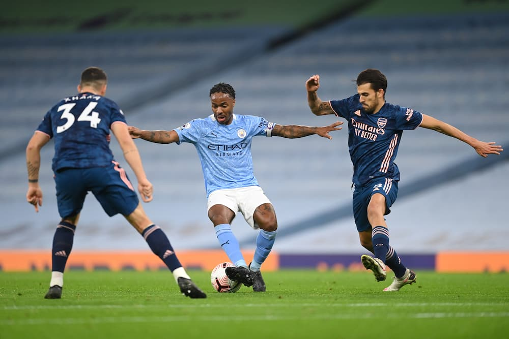 Manchester City vs Arsenal: Raheem Sterling scores in 1-0 win for the Citizens