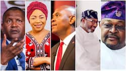 Full list of 5 Nigerian billionaires whose money can end anybody's poverty situation in the country
