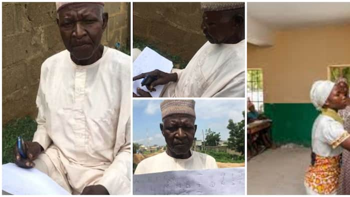 62-year-old Nigerian man who has never gone to school in his life says he wants to know ABC before dying